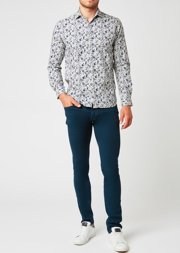 Jean skinny en coton bleu indigo - Father and Sons 26827