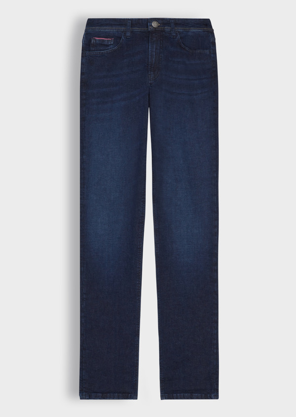 Jean skinny en coton stretch bleu indigo - Father and Sons 36706