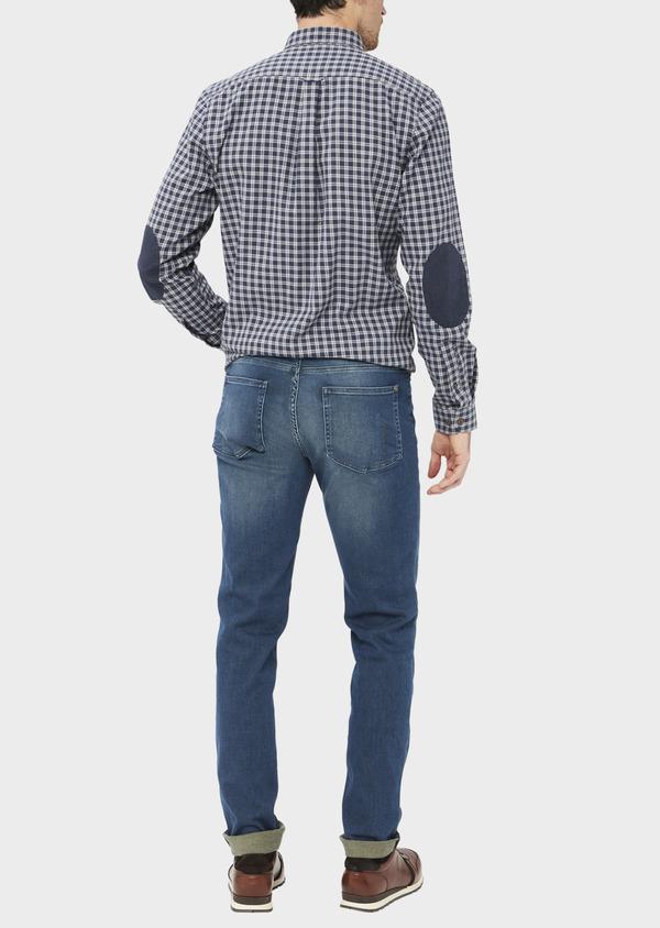Jean skinny en coton stretch bleu indigo - Father and Sons 36957