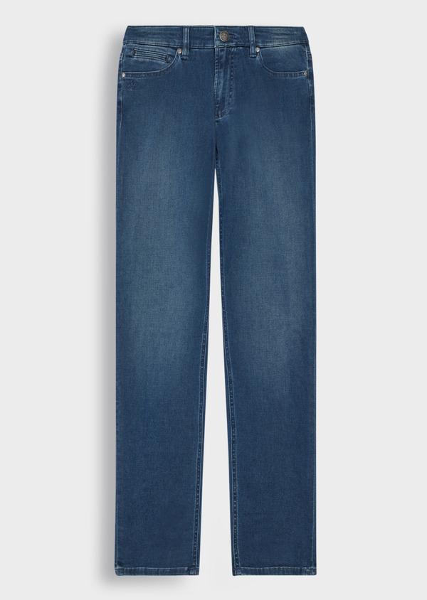 Jean skinny en coton stretch bleu indigo - Father and Sons 36954