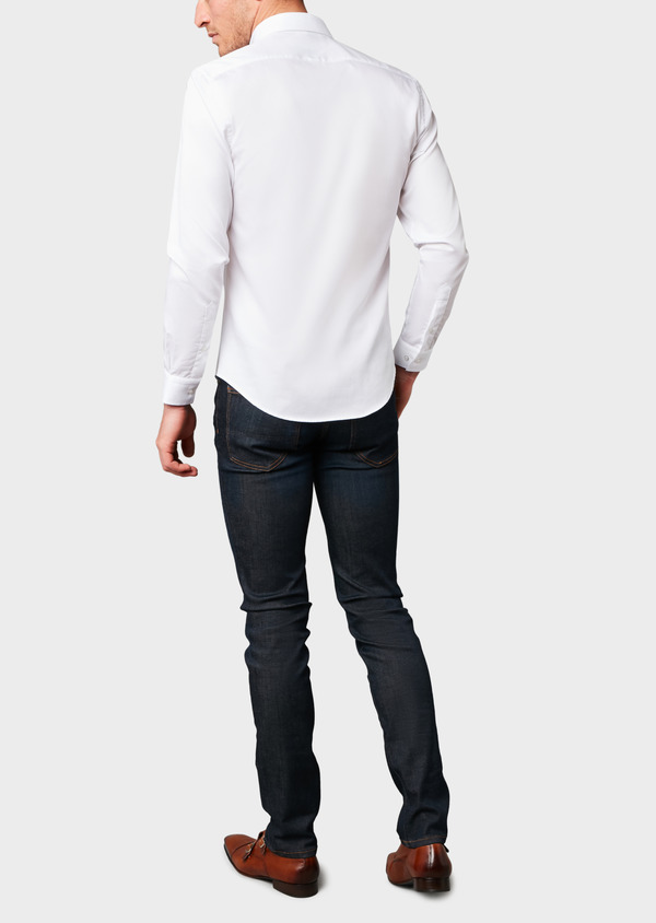 Jean skinny en coton stretch bleu brut - Father and Sons 18160