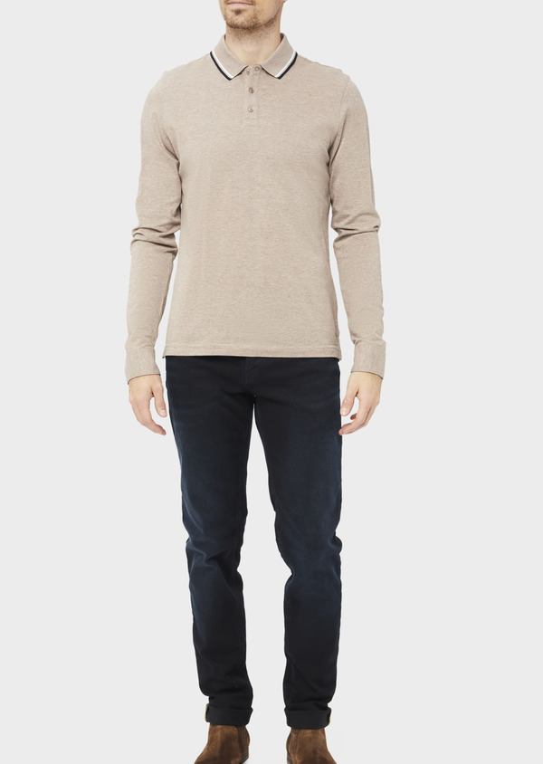 Jean skinny en coton stretch noir - Father and Sons 36952