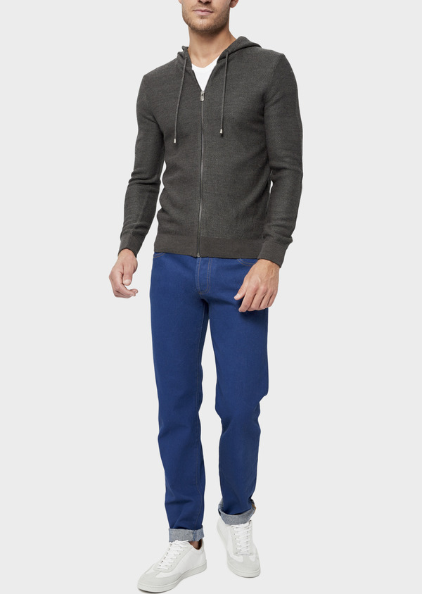 Jean skinny en coton bleu - Father and Sons 36030