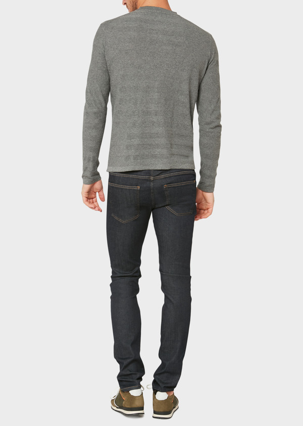 Jean skinny en coton stretch bleu brut - Father and Sons 34213