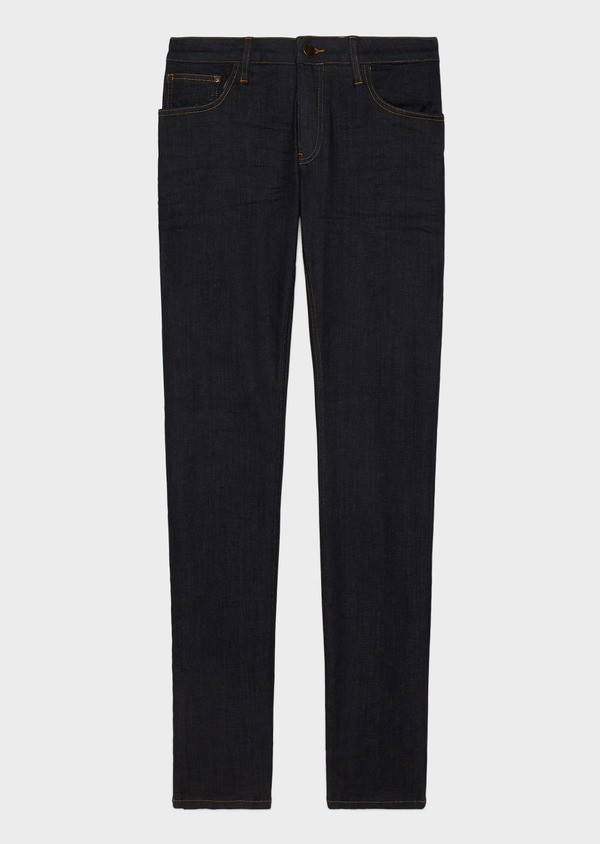 Jean skinny en coton stretch bleu brut - Father and Sons 34210