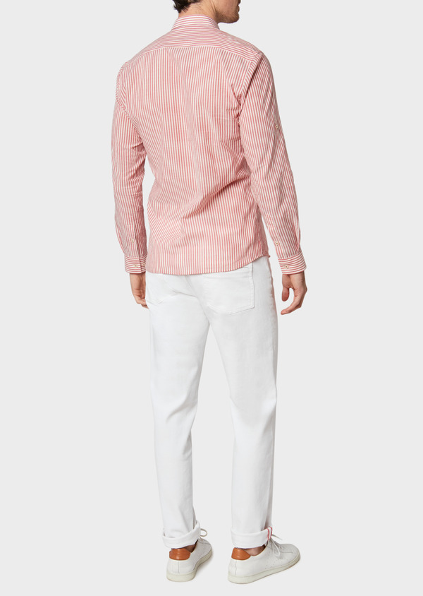 Jean skinny en coton stretch blanc - Father and Sons 33202