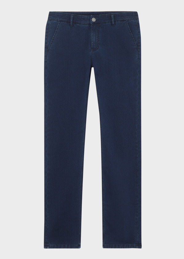 Jean skinny brut en coton stretch bleu marine - Father and Sons 34147