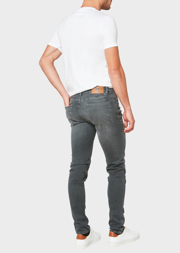 Jean skinny Edition Limitée Ardif en coton stretch gris - Father and Sons 33206