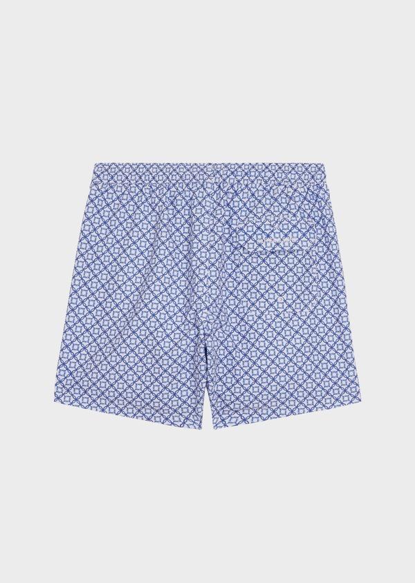 Maillot de bain bleu marine à motifs géométriques - Father and Sons 34307