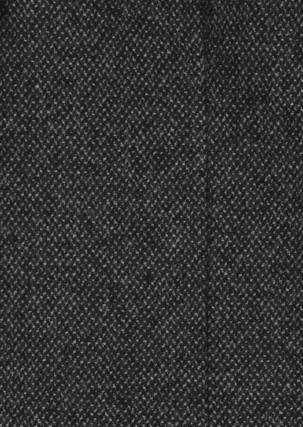 Manteau en laine mélangée gris anthracite chiné à doudoune amovible - Father and Sons 29450