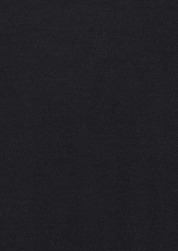 Pull en laine mérinos col roulé uni bleu marine - Father and Sons 27960