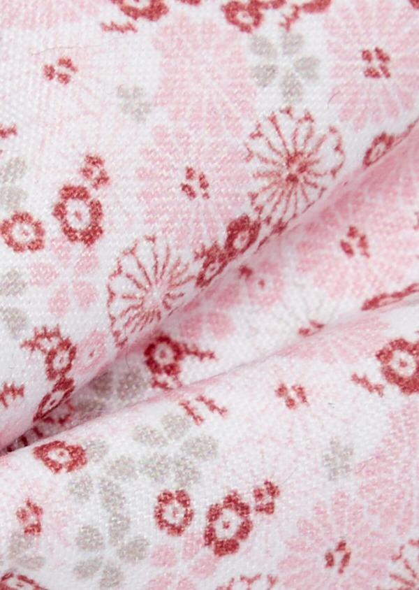 Noeud-papillon à motif fleuri rose pâle - Father and Sons 38230