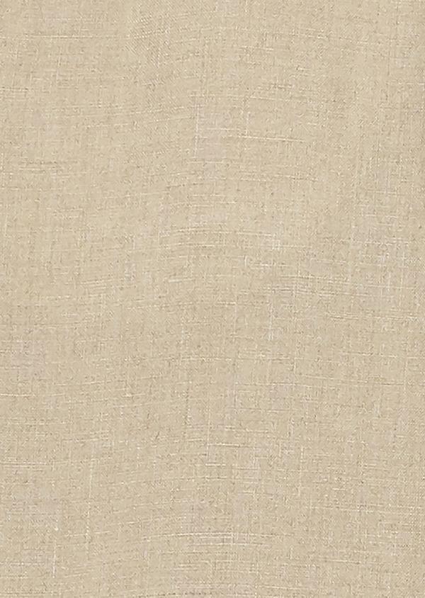 Pantalon Casual en lin uni beige - Father and Sons 20318