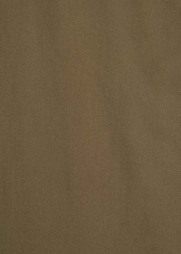 Chino slack skinny en coton stretch uni vert kaki - Father and Sons 36919