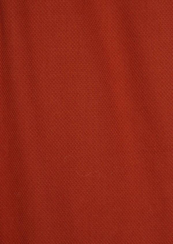 Chino slack skinny en coton stretch uni orange - Father and Sons 37171
