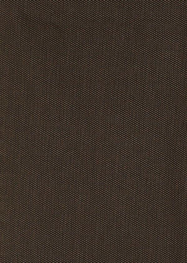 Pantalon skinny en coton beige foncé à motif fantaisie - Father and Sons 26976