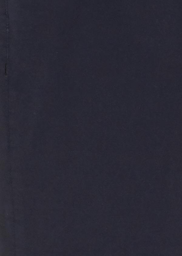 Chino slack skinny en coton stretch uni marine - Father and Sons 28008