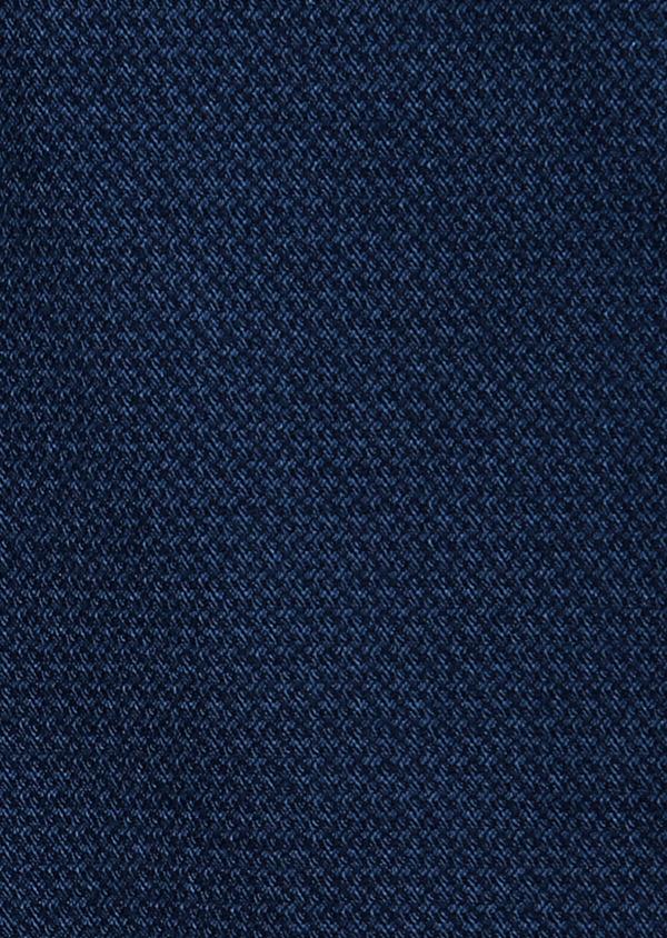 Chino slack skinny en coton façonné stretch uni bleu gris - Father and Sons 31631