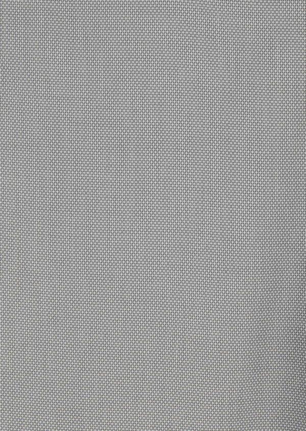 Chino slack skinny en coton stretch gris clair à motif - Father and Sons 20218