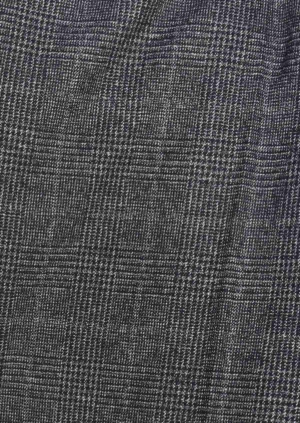 Pantalon Slim coordonnable bleu indigo Prince de Galles - Father and Sons 28014