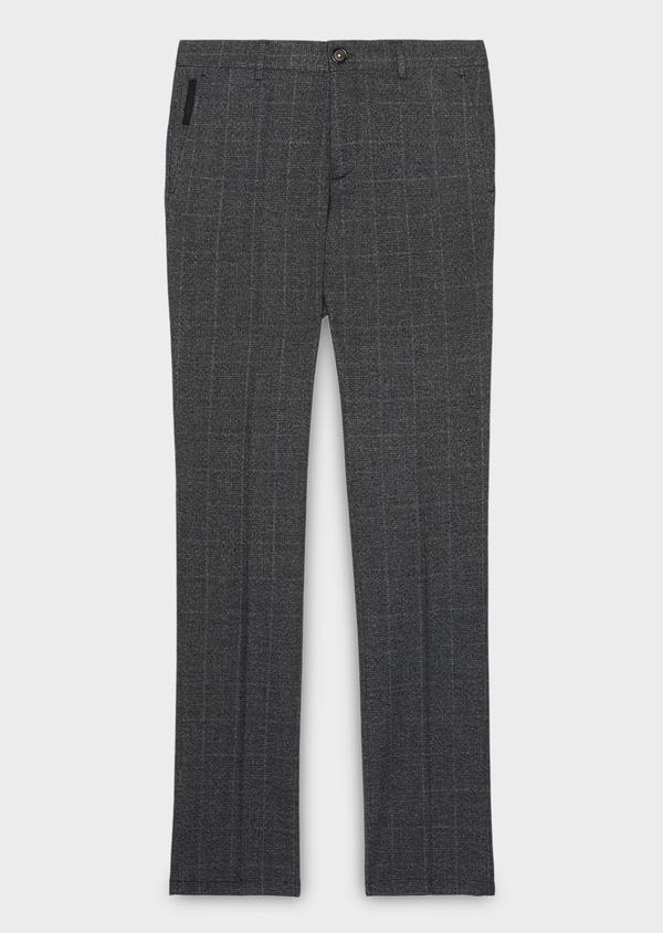 Pantalon Slim coordonnable bleu indigo Prince de Galles - Father and Sons 28013