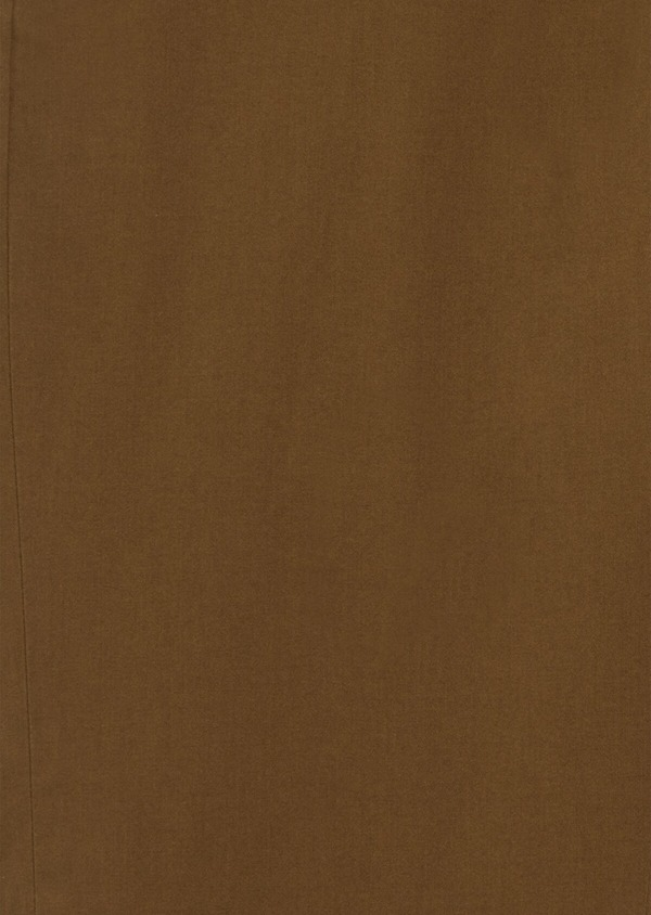 Chino slack skinny en coton stretch uni camel - Father and Sons 35723