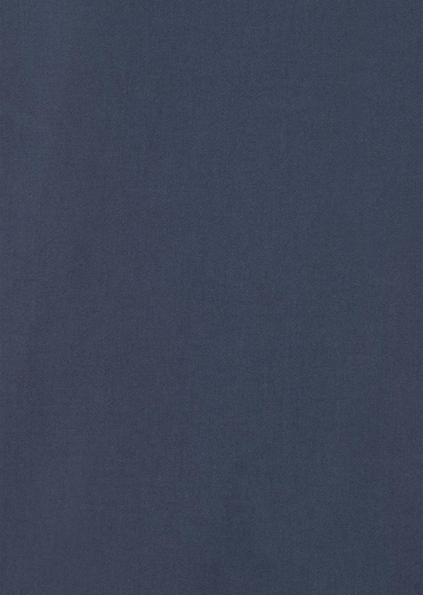 Chino slack skinny en coton stretch uni bleu indigo - Father and Sons 34461