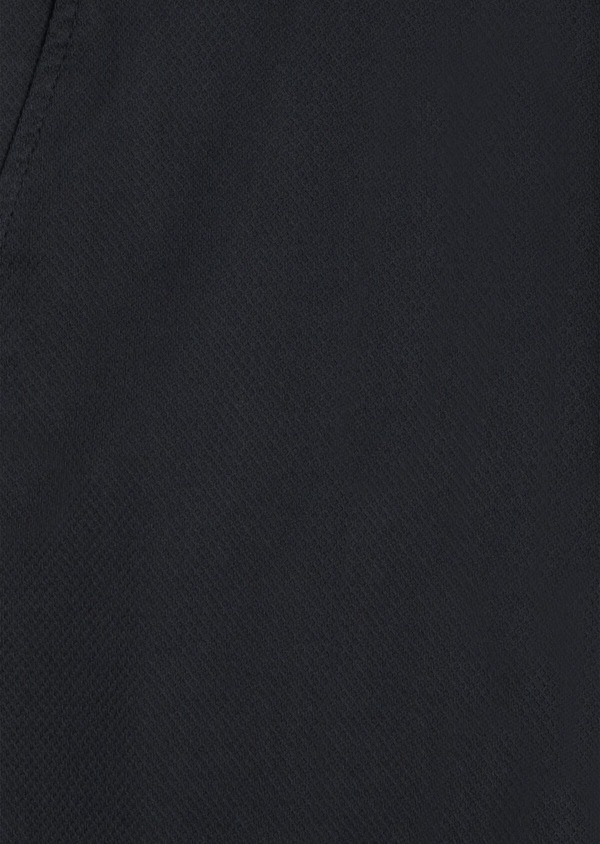 Chino slack skinny en coton façonné stretch uni bleu marine - Father and Sons 34465