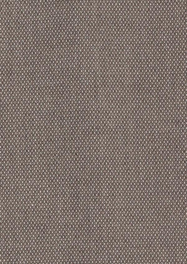 Pantalon coordonnable slim en coton mélangé uni marron - Father and Sons 33891