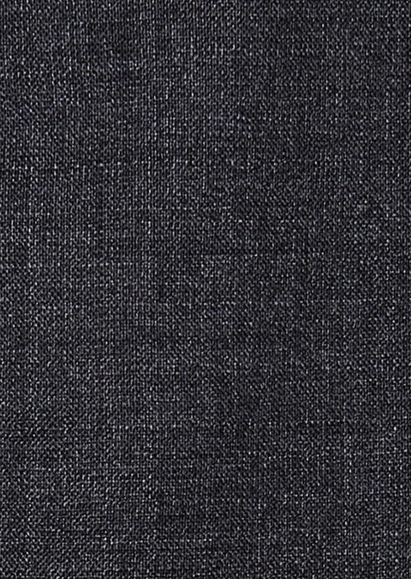 Pantalon voyage coordonnable Regular en laine unie grise - Father and Sons 31865