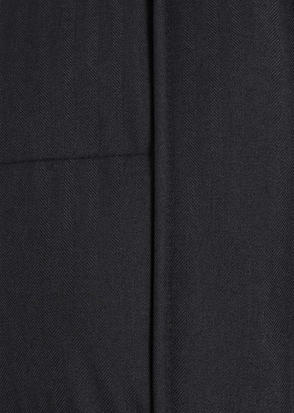 Parka unie grise à capuche amovible en fausse fourrure - Father and Sons 35935