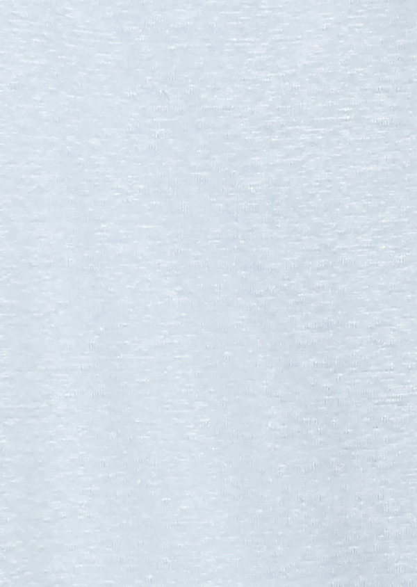 Polo manches courtes Slim en coton uni bleu ciel - Father and Sons 20350