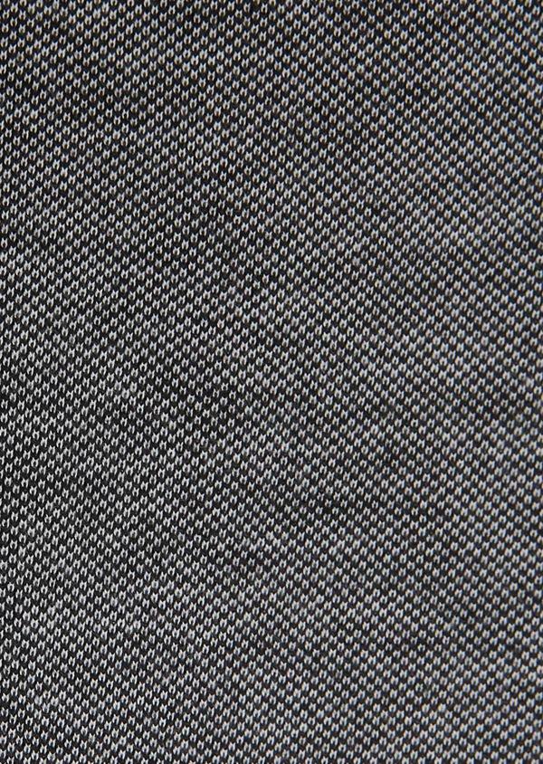 Chemise manches longues Slim en coton jersey uni gris foncé - Father and Sons 27417