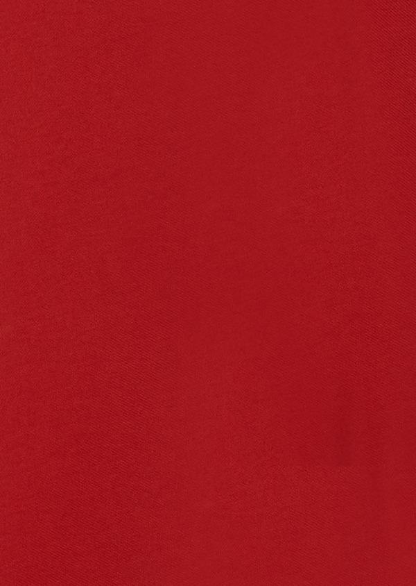 Polo manches courtes Slim en coton uni rouge - Father and Sons 33430