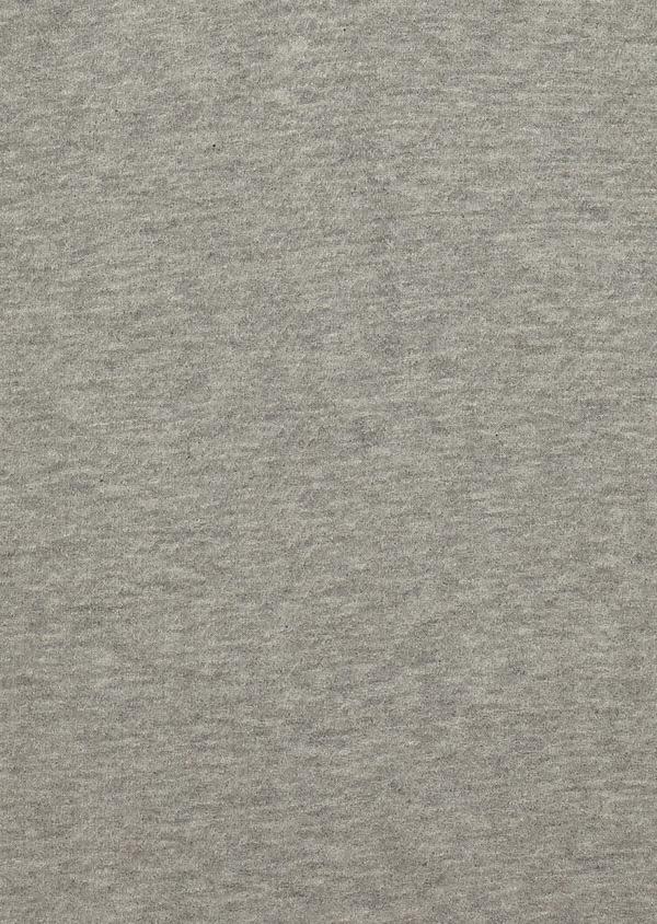 Polo manches courtes Slim en coton uni gris - Father and Sons 33932