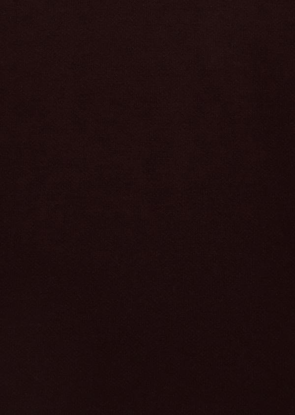 Polo manches courtes Slim en coton uni marron clair - Father and Sons 34006