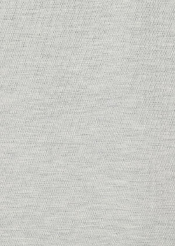 Polo manches courtes Slim en coton uni gris - Father and Sons 33952