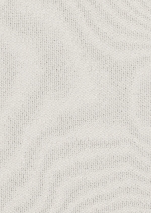 Pull en coton et lin col tunisien uni gris - Father and Sons 38810