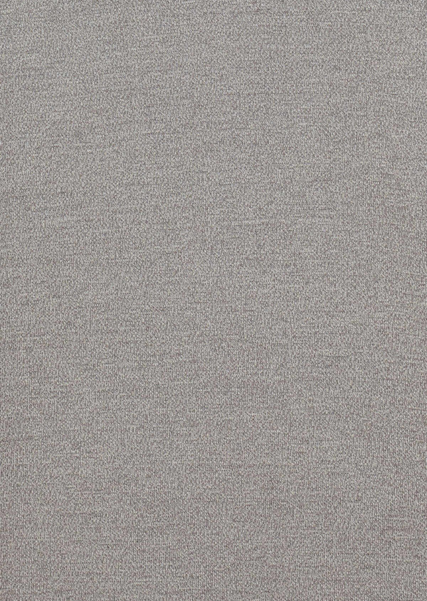 Pull en coton col V uni gris clair - Father and Sons 34539