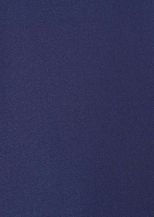 Smoking Slim en laine unie bleu indigo - Father and Sons 33518