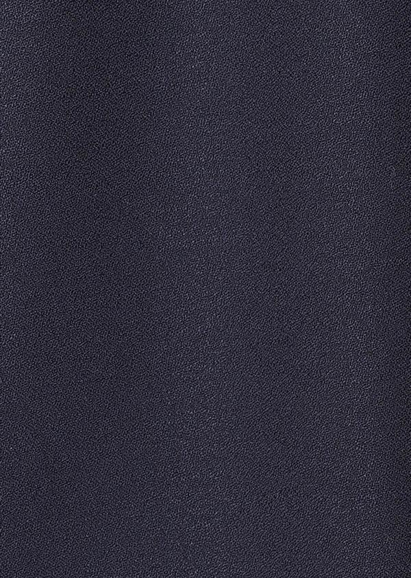 Smoking Slim en laine unie bleu marine - Father and Sons 33525