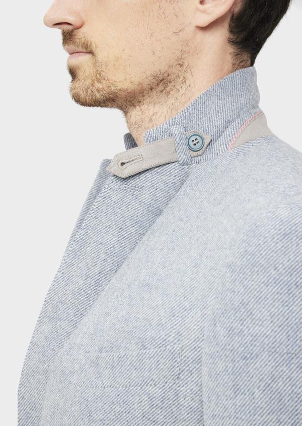 Veste casual Regular en laine mélangée grise - Father and Sons 36835