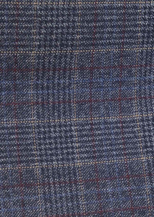 Veste coordonnable Slim bleu indigo Prince de Galles - Father and Sons 35513