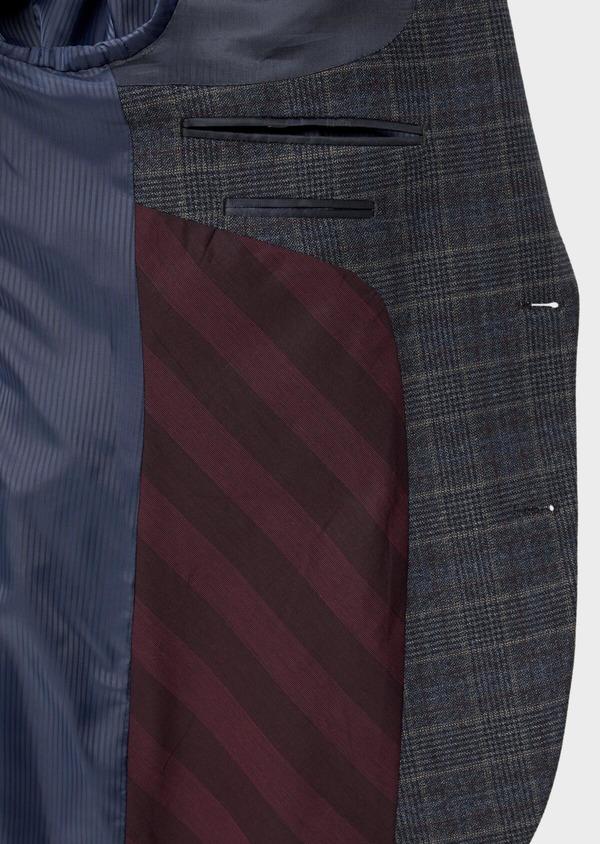 Veste coordonnable Slim bleu indigo Prince de Galles - Father and Sons 35518