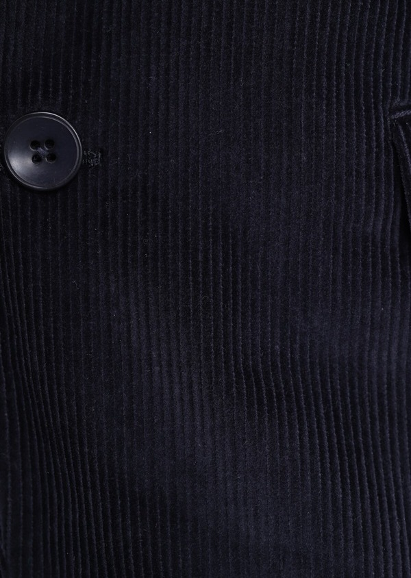 Veste coordonnable Slim en velours côtelé bleu indigo - Father and Sons 35520