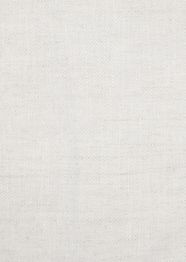 Veste coordonnable Regular en lin beige - Father and Sons 20256