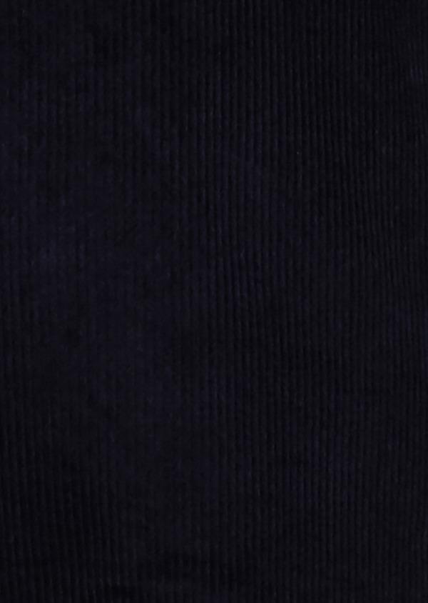 Veste coordonnable Slim en velours côtelé uni bleu marine - Father and Sons 27167
