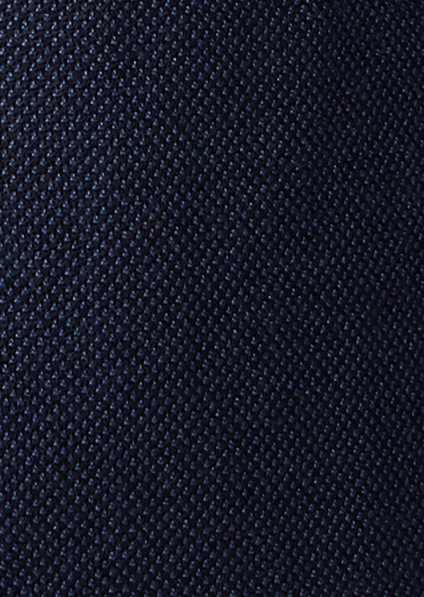 Veste casual Slim en laine façonnée uni bleu - Father and Sons 27155