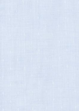 Chemise sport Slim en lin uni bleu ciel à pois 2 - Father And Sons