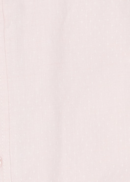 Chemise sport Slim en lin uni rose clair 2 - Father And Sons